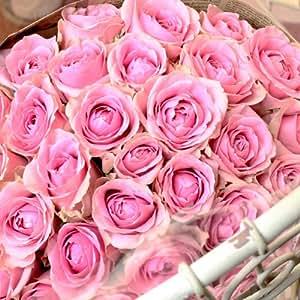 〔エルフルール〕バラの花束 20本 カラー:ピンク 結婚記念日 プレゼント 薔薇 誕生日祝い 贈り物 成人の日 花 ギフト
