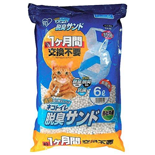 アイリスオーヤマ ネコトイレ専用脱臭サンド  6L  TIA-6L