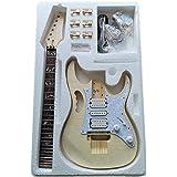 KESOTO エレクトリックギターキット DIY プロジェクト ギターボディ エレキギターセット