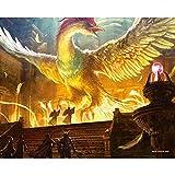 ドラゴンクエストミュージアム限定 キャンパスアートA 「不死鳥」
