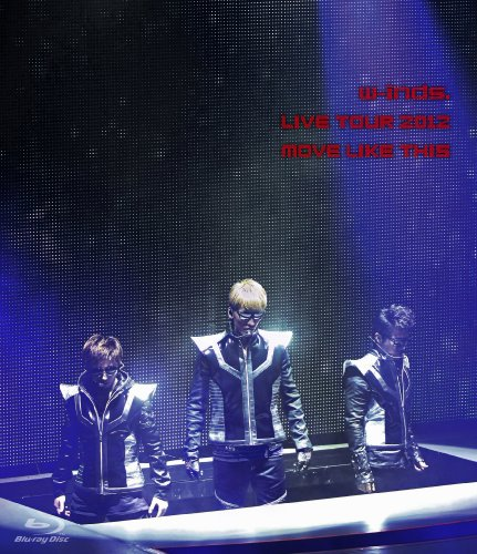w-inds. LIVE TOUR 2012 MOVE LIKE THIS [Blu-ray]
