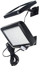 【高輝度】Shome 56LED ソーラーライト センサーライト 玄関ライト 防犯ライト 防水ライト 屋外照明/軒先/壁掛け/庭先/玄関周りなどのライト 夜間自動点灯