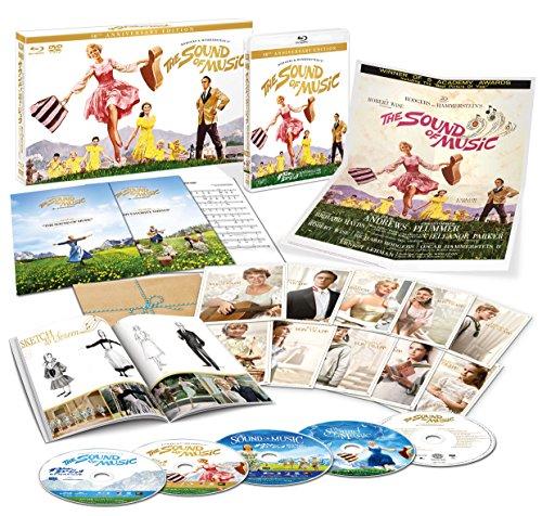 サウンド・オブ・ミュージック 製作50周年記念版 ブルーレイ・コレクターズBOX(5枚組)(5,000セット完全数量限定) [Blu-ray]