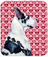Caroline's Treasures Mouse/Hot Pad/Trivet Great Dane Hearts Love & Valentine's Day (LH9146MP) [並行輸入品]
