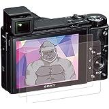 SONY RX100M7 / RX100M6 / RX100M5 / RX100M4 / RX100M3 / RX100M2 / RX100 ガラスフィルム ~ ゴリラガラス採用 (アメリカ製)【 7時間コーティング・なめらかタッチ・Rラウンド加工・
