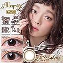 アレグロ(Allegro)2Week【2週間カラコン】【1箱4枚入り/DIA14.0mm/BC8.6】 (0.00(度なし), ワルツモカ)