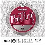 D'Addario ダダリオ チェロ弦 J5901 4/4M ProArte Cello Strings / A-alunimum 【国内正規品】