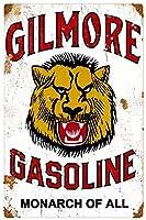 ヴィンテージGilmore GasolineライオンヘッドヴィンテージSign