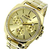 [取り寄せ品](コーチ) COACH 腕時計 BOYFRIEND 38mm ユニセックス レディース メンズ ゴールド ステンレススチール(YGPVD) 14502080 ブランド [並行輸入品]
