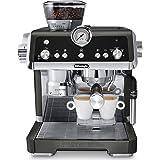 De'Longhi La Specialista EC9335BK, Manual Espresso Coffee Machine, Black with Sensor Grinding Technology, Creates The Perfect