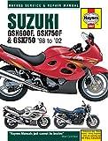ヘインズ刊「スズキ GSX600F, 750F & 750 (1998-02) 」サービスマニュアル