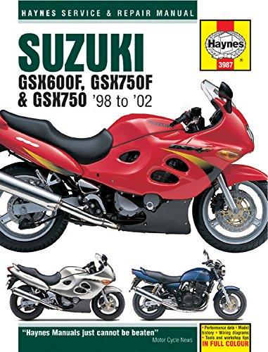 Suzuki GSX600F, GSX750F & GSX750 '98-'02 (Haynes Service & Repair Manual)