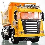 ワイヤレスリモートコントロールカーリモートコントロールダンプトラックのチッパートラックのトレーラートラックの電荷セメントトラックドリフト