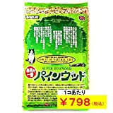 猫砂 パインウッド 6L×4個 【キラキラねこシール 猫の音楽隊付き】