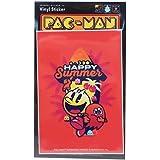 パックマン[防水 ステッカー]ダイカット ビニール ステッカー/HAPPY SUMMER