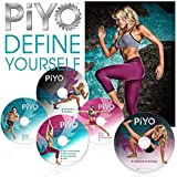 New Piyo Workouts Deluxe Full Set 5Dvd Come W/ All Guides & Fast & HOT