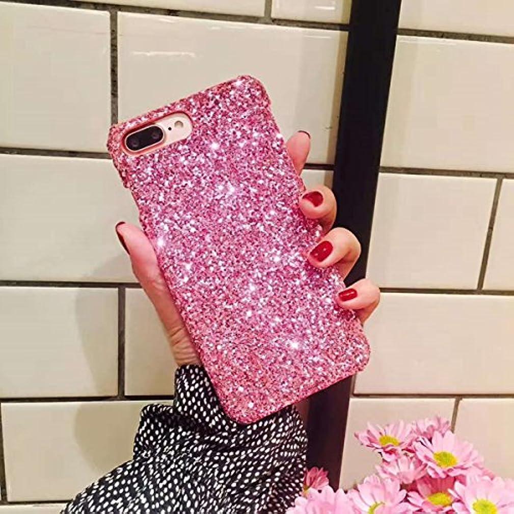 ギャング気まぐれなアルミニウムiPhone 6プラス、iPhone 6s Plusケース、IKASEFUフラッシュパウダーBack耐衝撃高級SleekグリッターキラキラBlingキュートShiny PC薄型バンパー保護カバーfor iPhone 6 ...