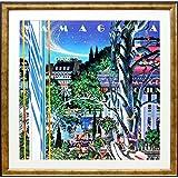アートショップ フォームス ヒロ・ヤマガタ「イブニング・パーティ」アートポスター展示用フック付き
