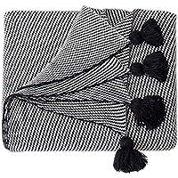 毛布のソファベッドニットショールブランケット旅行毛布秋冬の感謝祭のギフト130x160cm (色 : 130x160cm)