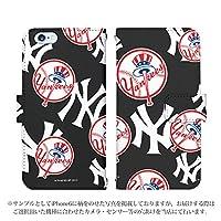 AQUOS zero2 SHV47 ケース [デザイン:10.ヤンキース/マグネットハンドあり] MLB 30球団 手帳型 スマホケース カバー アクオスゼロ2 shv47