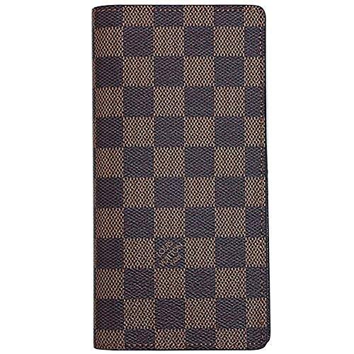 (ルイヴィトン) ルイ・ヴィトン LOUIS VUITTON N60017 財布 ファスナー長札 16枚カード メンズ ダミエ エベヌ ポルトフォイユ・ブラザ [並行輸入品]