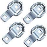 D Ring Tie Down Anchor 4 Pk Robbor Surface Mount Tie Down Ring Heavy Duty 6000 Pound Breaking Strength Super Strong Forged St