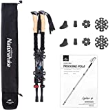 Naturehike Trekking Poles – Collapsible, Lightweight, Shock-Absorbent, Hiking, Walking & Running Sticks with Natural Cork Gri