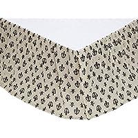 Patterned Motifベッドスカート(ツイン: 39 in。w x 76で。H ( 1.35 KG )