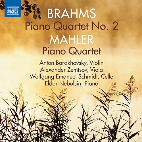 ブラームス:ピアノ四重奏曲 第2番/マーラー:ピアノ四重奏曲 イ短調の詳細を見る
