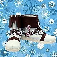 【サイズ選択可】コスプレ靴 ブーツ 12L1128 デジモンアドベンチャー 太刀川ミミ 男性27CM
