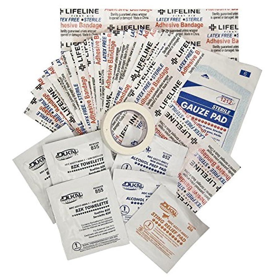 フェリー徐々に体操選手LifeLine First Aid Product 4444 Glove Box First Aid Kit -Pack of 6
