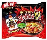 韓国で人気の激辛袋麺【ブルダック炒め湯麺4食入】