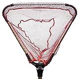 TPOS 玉網 たも 折りたたみ式たも網 ワンタッチネット 伸縮する玉網 最大約190cm収納時約71cm網幅約43cm