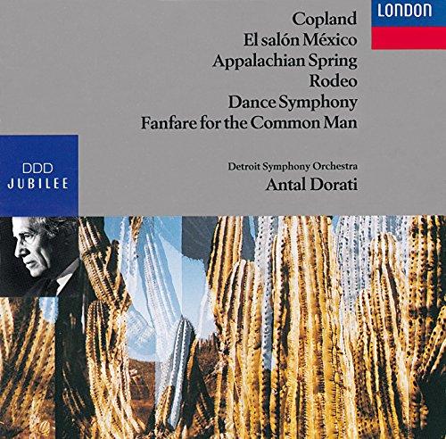 Aaron Copland: El salon Mexico/Appalachian Spring/Rodeo/Dance Symphony