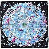RER タロットクロス タペストリー 大判 ホロスコープ 星座 2way 占い 占星術 (ホロスコープ)