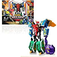 Young Toys Geo Mecha Captaindino Transforming Toy Robot 子供のロボット玩具 [海外並行輸入品]