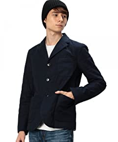 Quilted Work Jacket 3222-699-0280: Navy
