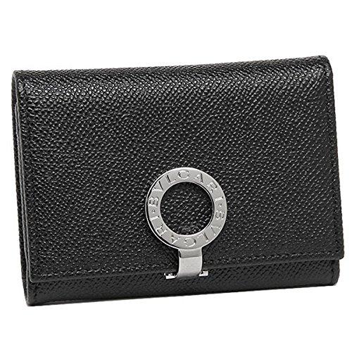 [ブルガリ] カードケース レディース BVLGARI 30420 BULGARI BULGARI ブラック [並行輸入品]