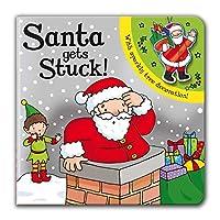 Santa Gets Stuck! (Sparkly Christmas)