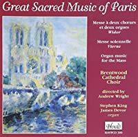 Sacred Music of Paris by Widor (2008-10-11)
