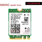 Intel Dual Band Wireless AX200NGW 2.4Gbps 802.11ax Wireless Intel AX200 WiFi Card Bluetooth 5.0