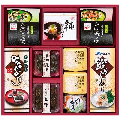 新潟産こしひかり・調味料・和食詰合せ[EF-50]