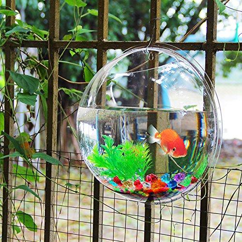 しんちんちんアクリル 容器 手作り ガラス細工 金魚鉢 アクアリウム テラリウム 直径30cm 高さ14cm