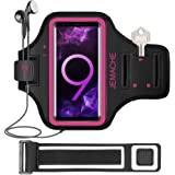 Galaxy Note 8/9/10+ Armband, JEMACHE Gym Run Workout Water Resistant Arm Band Case for Samsung Galaxy Note 8/9/10 Plus, Galax