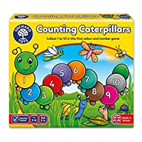 Orchard Toys Counting Caterpillars Board Game [並行輸入品]