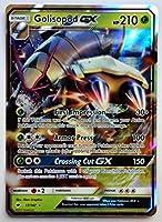 Pokemon, S & M, Burning Shadows, Golisopod GX 17/147, Ultra Rare, New, Mint