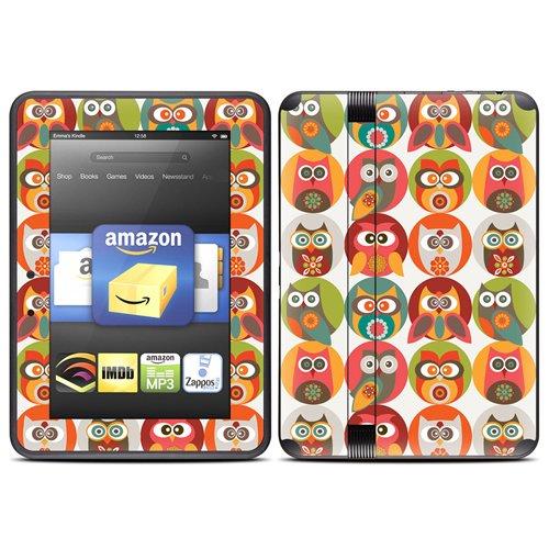 DecalGirl スキンシール Kindle Fire HD(2012年モデル)専用スキン - Owls Family