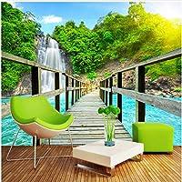Xbwy 壁の居間のソファーの背景幕のための注文3D部屋の景色の壁紙の壁の壁画の自然の景色-450X300Cm
