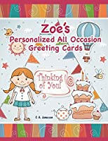 Zoe's Personalized All Occasion Greeting Cards