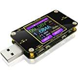 MakerHawk USB Multimeter USB Voltmeter Ammeter Load Tester USB Voltage Current PD Battery Power Capacity Charger Digital Type